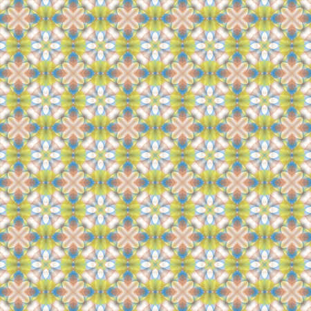 Modern abstract geometric pattern for printing on fabric, paper for scrapbook, wallpaper, cover, page book. Standard-Bild