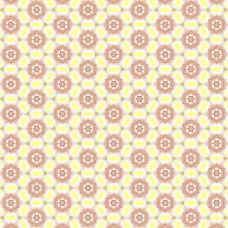 Seamless oriental pattern with geometric ornaments. Arabic seamless texture background. Standard-Bild