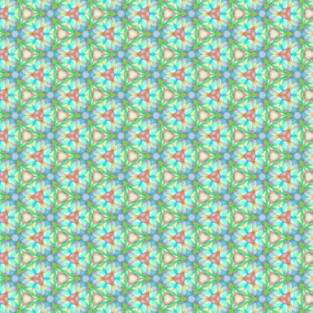 Beautiful multicolor kaleidoscope texture. Ornament for website, corporate style, fashion design and house interior design, as well for hand crafts and DIY. Endless texture.