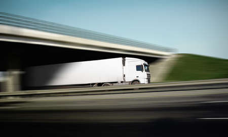 with the advent of a truck photo
