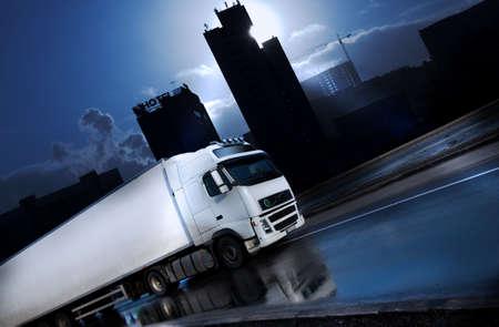 lorry: Eclipse - vedere molti altri camion nel mio portafoglio Archivio Fotografico