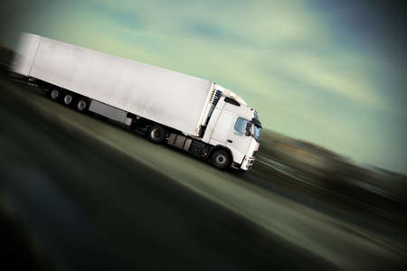 speed - see many other trucks in my portfolio Stock Photo - 9123153