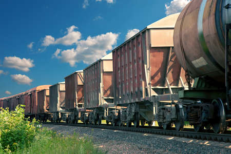 hauling: freight cars