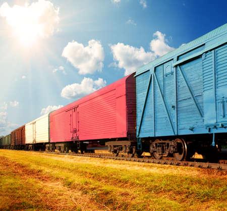freight train photo