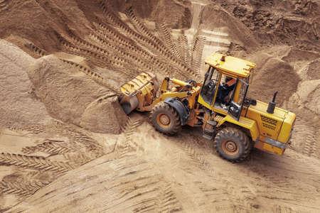 duties: bulldozer on a construction site