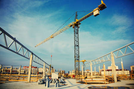 building: construction site