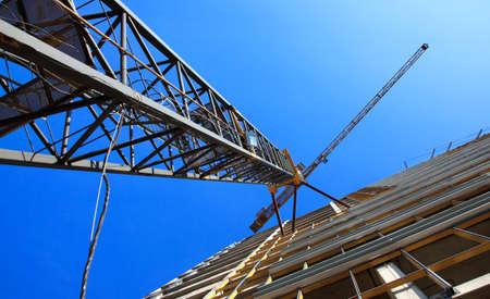 tower crane: tower crane Stock Photo