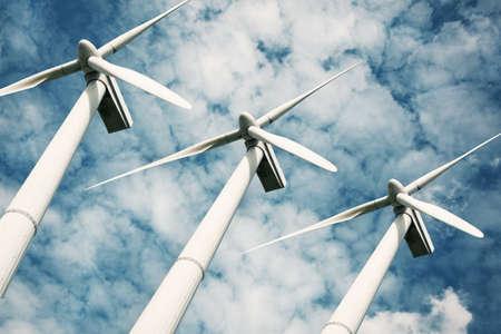 conservation: wind turbines