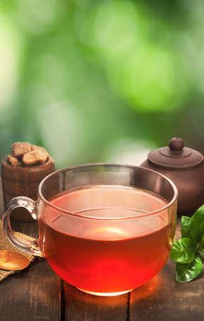 taza de té: vidrio taza de té