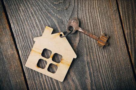 old vintage apartment key