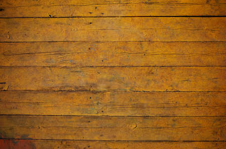 wainscot: Yellow wooden board texture