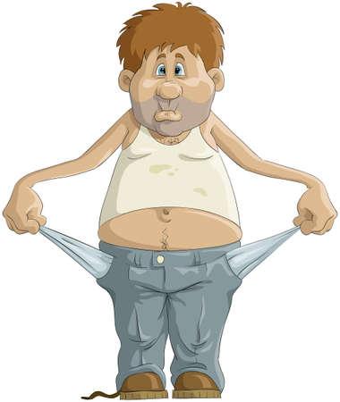 pauvre: L'homme aux poches vides Illustration