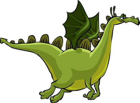 dragones: Caricatura flying dragon