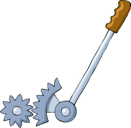 leverage: Lever on a white background, vector illustration