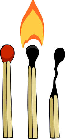 Drie wedstrijden op een witte achtergrond, vector illustratie