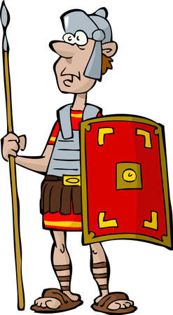 cascos romanos: Legionario Vectores