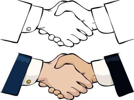Handshake   Stock Vector - 15059861