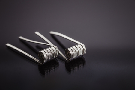 Alien Clapton Coils for vape or e-cig dripping atomizers or RDA, accessories for vaping, toned