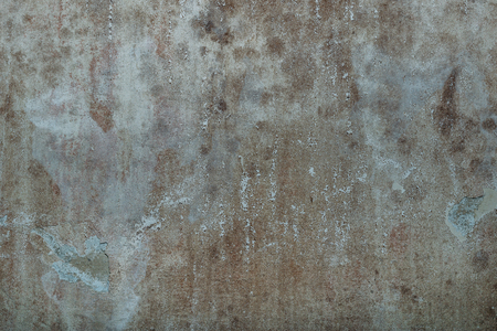 Old dirty grunge cement concrete wall texture with mold, vintage aged surface background Stock Photo