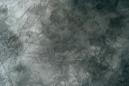 Gray Grunge Decorative Concrete Wall Texture Backdrop for Design or Background.