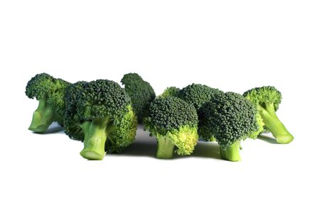 Broccoli isolated on the white