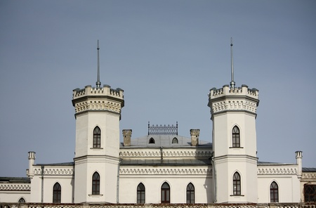 Antico castello con alcune torri