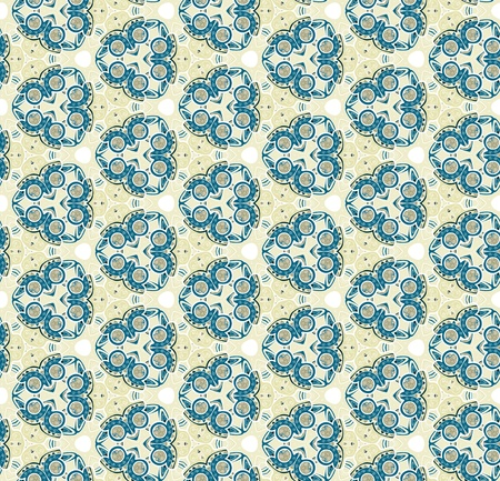 Seamless pattern with trees can be used as wallpaper or greeting card, site background and other Vector