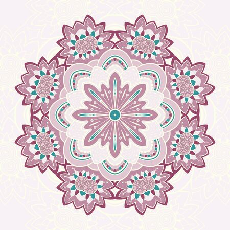 Circle lace steampunk ornament can be used for wallpaper, pattern fills, web page background,surface textures. Vector