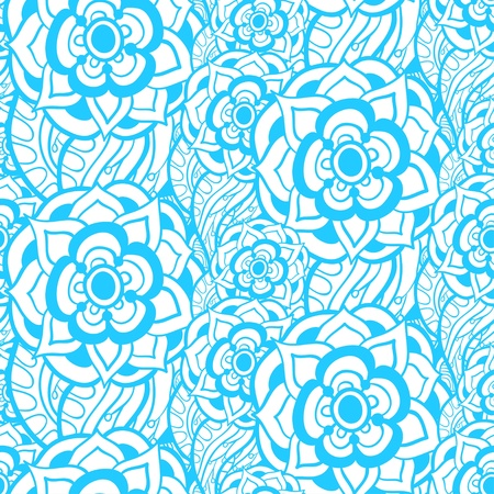 Vintage ornament can be used for wallpaper, pattern fills, web page background, surface textures. Vector