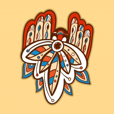 Native American Style Vector can be used for wallpaper, pattern fills, web page background, surface textures  Vector
