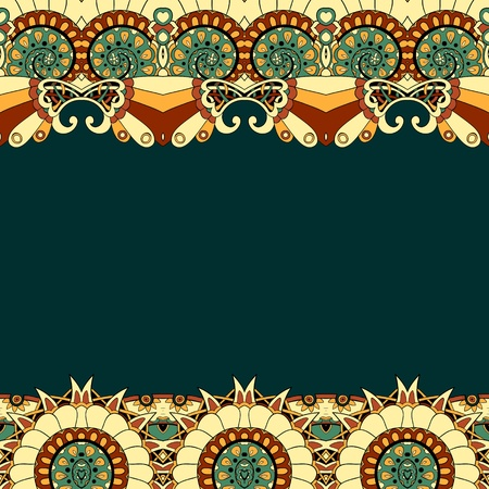Floral mechanism steampunk seamless vector pattern can be used for wallpaper, pattern fills, web page background, surface textures Stock Vector - 21537091