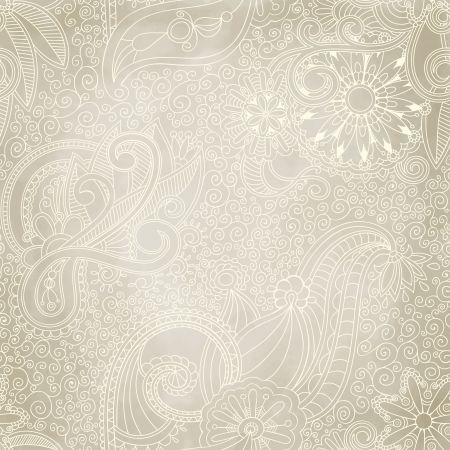 Seamless vintage ornament can be used for wallpaper, pattern fills, web page background, surface textures. Vector