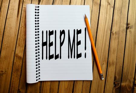 help me: Help me word on notepad