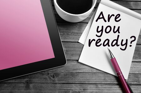 Question Are you ready on notebook page