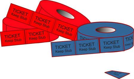 Lacrimógenos para obtener billetes en donde usted quiere ir .. ilustración Ilustración de vector