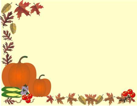 지구의 과일의 가을 추수를 기리기
