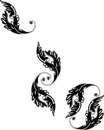 スワール: ビクトリアン スクロールの華やかなグループのデザインが好き.
