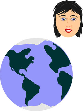 educated: With pictures, videos, stories.. through the usage of tv, magazines, internet, videos and so on, people are educated in world affairs. Those who can not travel are able to see different parts of the world, from what others have seen, and report..  Illustration
