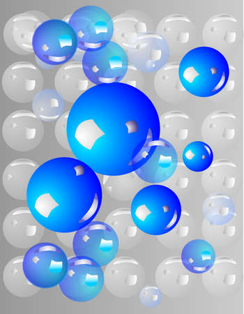 grouping of bubbles, for backgrounds, stationary and so on... Illusztráció