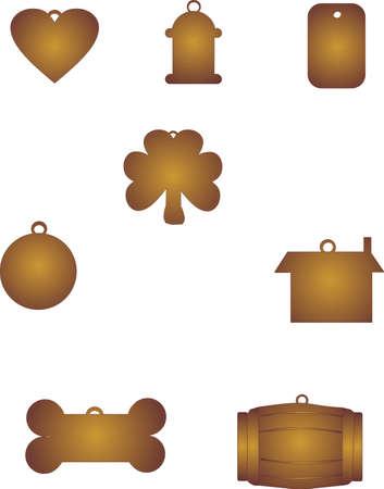id: groupe de chien de balises en bronze et de cuivre de conception et de finition ..