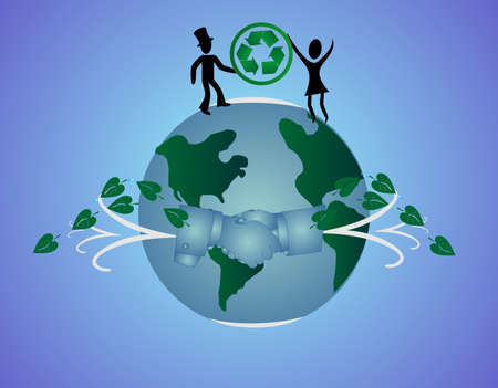 World wide agreements, to conserving non renewable resources, helping in  saving our planet.. Çizim