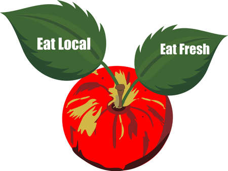 Getting your fruits and veggies from local farmers, makes more