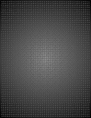 matting: black and grey squares in a design for a background, looks like steel matting. Illustration