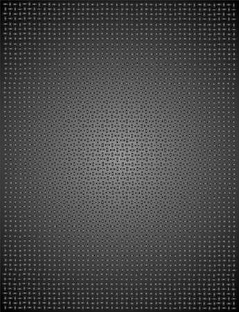 matting: cuadrados de color negro y gris en el dise�o de un fondo, se ve como esteras de acero. Vectores