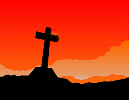 thee: Nearer to thee, as the sunset illuminates a lonely cross ....