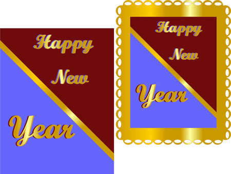 new opportunity: Happy New Years,  with bright colours and text...
