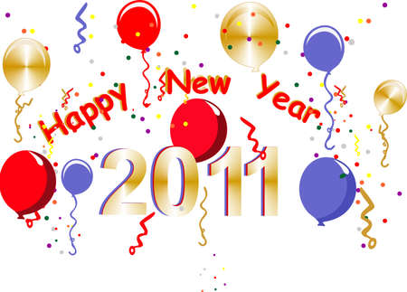 2011 Happy New Years Stock Vector - 7019723