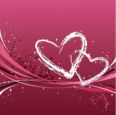 st valentines day: St. Valentines Day design Illustration
