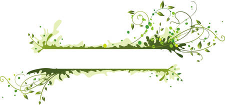 Green frame Illustration