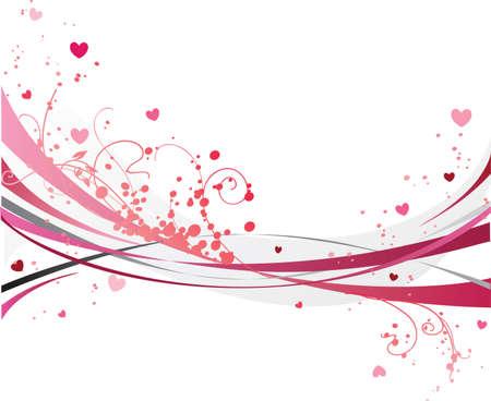 Pink design Illustration